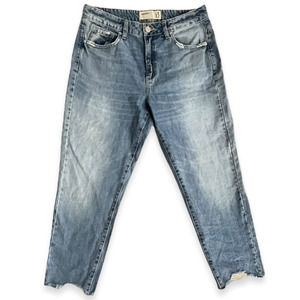 Garage Jeans Distressed Frayed Ankle Cropped 13
